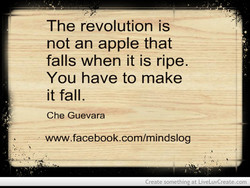 The revolution is 