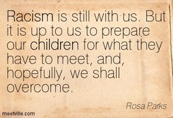 Racism is still with us. But 