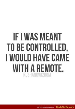 IF I WAS MEANT 