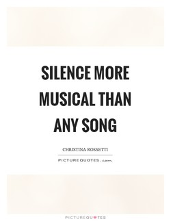 SILENCE MORE 