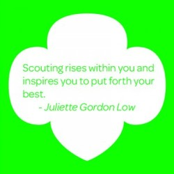 Scouting rises within you and 