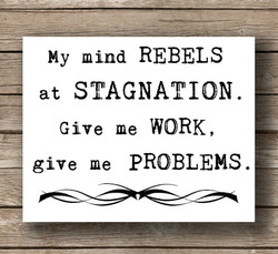 My mind REBELS 