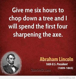 Give me six hours to 