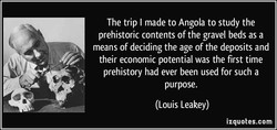 The trip I made to Angola to study the 