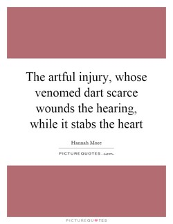 The artful injury, whose 