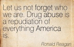 Let us not forget who 