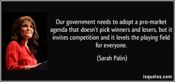 Our government needs to adopt a pro-market 