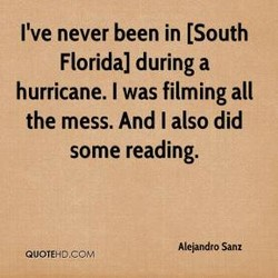 I've never been in [South 