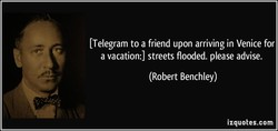 t Telegram to a friend upon arriving in Venice for 