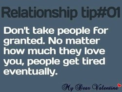 Relationship tip#01 