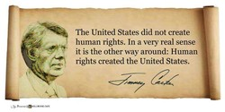 The United States did not create 
