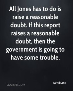 All Jones has to do is 