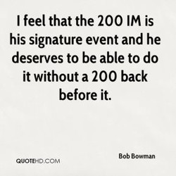 I feel that the 200 IM is 