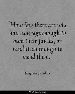 How few there are who 
