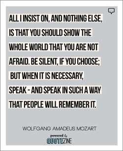 ALL I INSIST ON, AND NOTHING ELSE, 