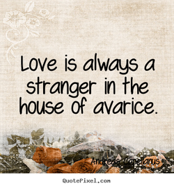 Love is always a 