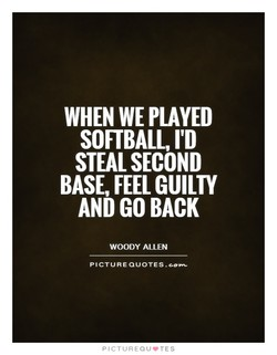 WHEN WE PLAYED