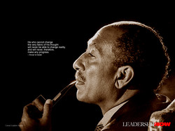 He who cannot change 