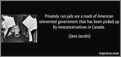 Privately run jails are a mark of American 