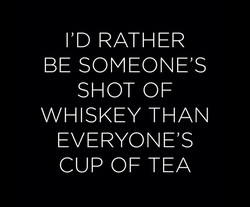 I'D RATHER 