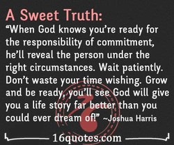 A Sweet Truth: