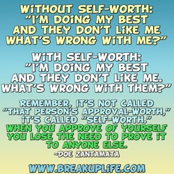 WiTHOUT SELF-WORTH: