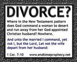 DIVORCE? 