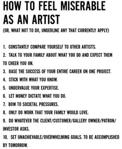 HOW TO FEEL MISERABLE 