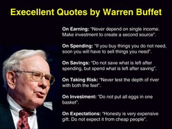 Execellent Quotes by Warren Buffet 