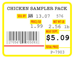 CHICKEN SAMPLER PACK 