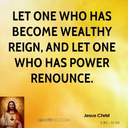 LET ONE WHO HAS 
