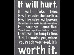 It will hurte 