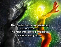 The eatest souls are awakened 