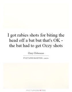 I got rabies shots for biting the 
