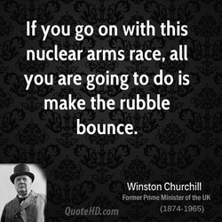 If you go on with this 