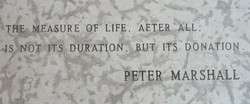 'THE* MEASURE OF' LIFE, AFTER 4 ALL. 
