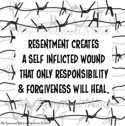 RESENTMENT CREATES 
