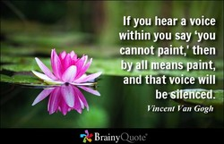 If you hear a voice 