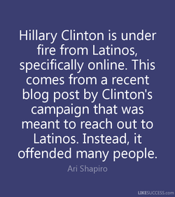 Hillary Clinton is under 