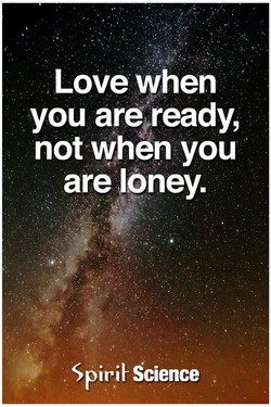 Love when 