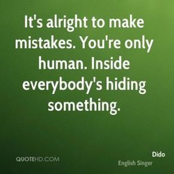 It's alright to make 
