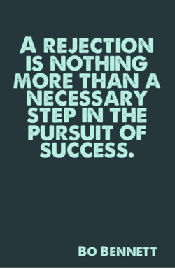 A REJECTION 