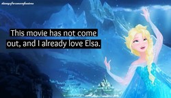 This movie has not come 