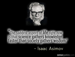 The-saddest aspect of life right now 