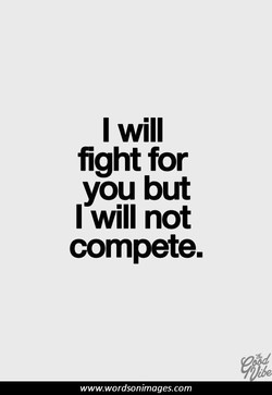 I will 