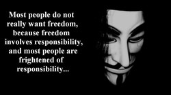 Most people do not 