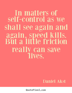 In matters of 