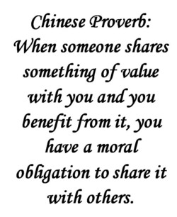 Chinese (Proverb: 
