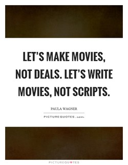 LET'S MAKE MOVIES, 
