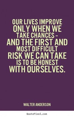 OUR LIVES IMPROVE 